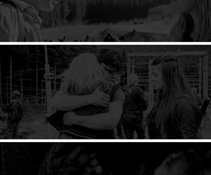 cw, otp, and clarke griffin image
