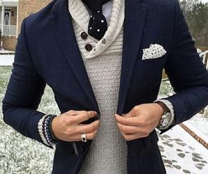 classy, fashion, and man image