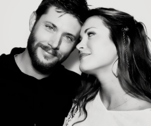 couple, Jensen Ackles, and supernatural image