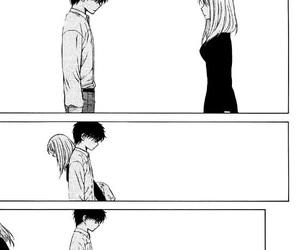 sad, anime, and love image