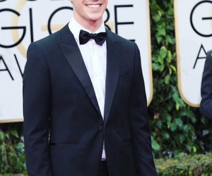 grant gustin, barry, and golden globes image