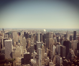 empire state building, nyc, and summer image