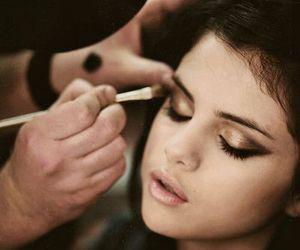 selena gomez and makeup image