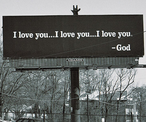 god, love, and I Love You image