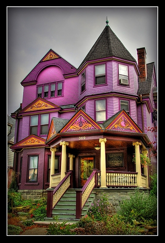home, purple, and victorian image