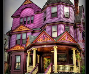 Purple Victorian HDR on Flickr - Photo Sharing!