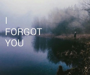 boy, forget, and forgot image