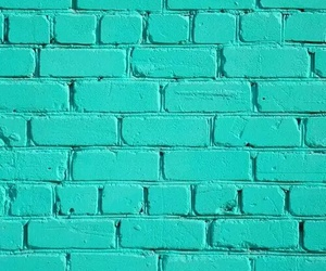 background, brick, and green image
