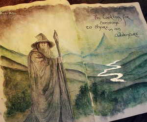 gandalf, LOTR, and hobbit image