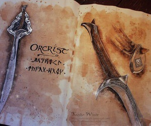 hobbit and sword image