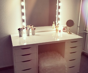 beauty, makeup, and room inspiration image