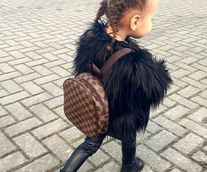 style, baby, and braid image