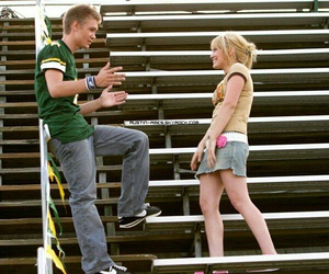 chad michael murray, couple, and Hilary Duff image