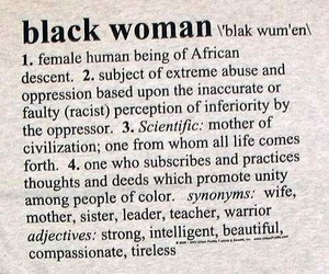 black woman, woman, and black image