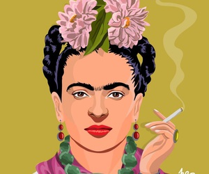 colors, frida kahlo, and backgrounds image