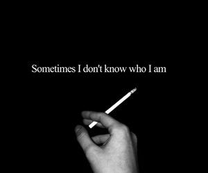 cigarettes, i, and sad image