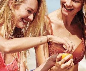 beach, summer, and Behati Prinsloo image