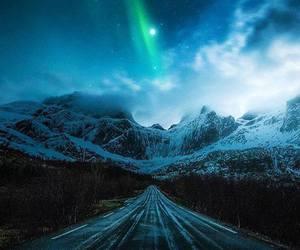night, sky, and nature image
