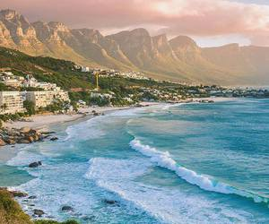 sea, ocean, and south africa image