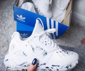 addidas, shoes, and blue image