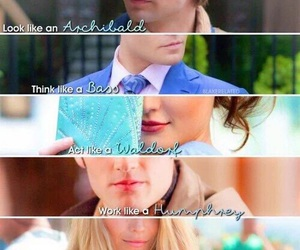 blake lively, chuck bass, and fun image