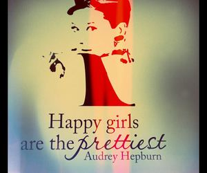 audrey hepburn and happy image