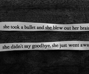 suicide, quote, and bullet image