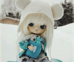 dolls, ❄, and winter image
