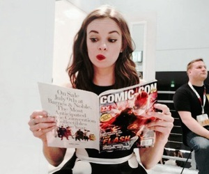 the flash, danielle panabaker, and caitlin snow image