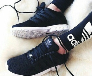 adidas, legging, and zxflux image
