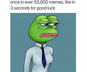 like, memes, and pepe image