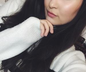 brunette, dark, and girl image