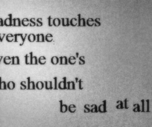 sadness, sad, and quotes image