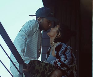 tyga, kyliejenner, and love image