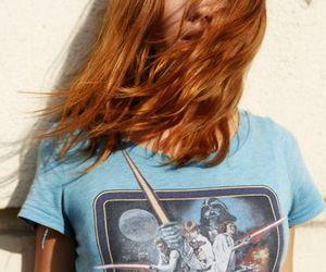 girl, star wars, and hair image