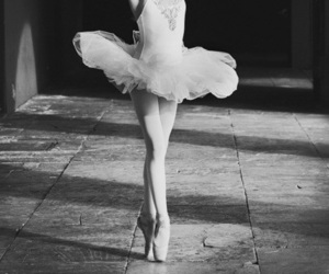 ballet, dance, and ballerina image