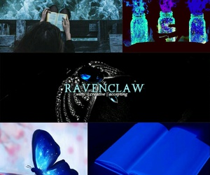 harry potter, luna lovegood, and ravenclaw image