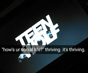 teen wolf and snapchat image
