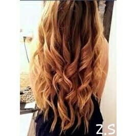 Tai and dai blond cheveux mi long
