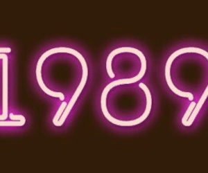 1989, pink, and new year image
