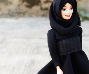 doll, hijab, and islam image