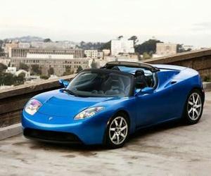 blue, car, and carro image