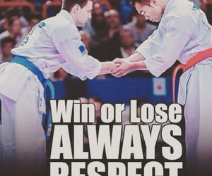 karate, lose, and respect image