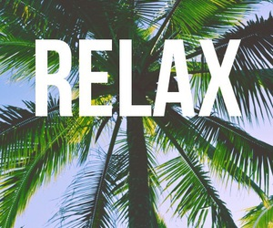relax, summer, and beach image