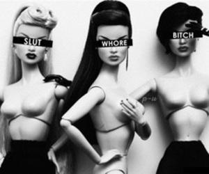bitch, akut, and slut image
