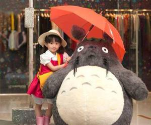 cosplay, totoro, and japan image