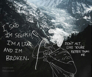 Lyrics, sad songs, and real friends dirty water image