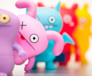 chic, ugly dolls, and cute image