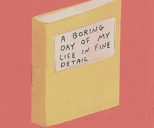 book, boring, and quotes image