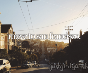 san francisco and bucket list image